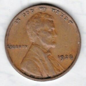 1928 LINCOLN CENT IN FINE  CONDITION  STK 1N