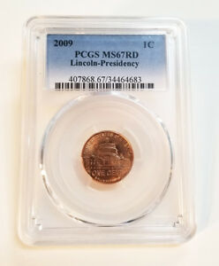 Click now to see the BUY IT NOW Price! 2009 PCGS MS67 RD LINCOLN PRESIDENCY