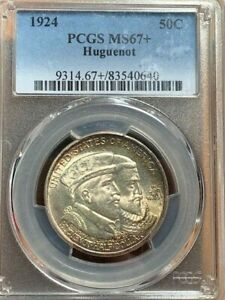 Click now to see the BUY IT NOW Price! 1924 HUGUENOT PCGS MS67