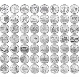 U.S. STATE QUARTER LOT 10 DIFFERENT GEM PROOF COINS..NICE TO TUCK AWAY