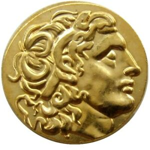 ALEXANDER III THE GREAT ANCIENT GREEK COIN GOLD 336 323 BC