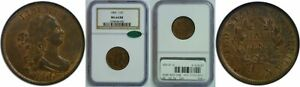 Click now to see the BUY IT NOW Price! 1806 HALF CENT NGC MS 64 RB CAC LARGE 6 STEMS