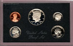 1983 S U.S. PROOF  SET IN ORIGINAL BOX.  NICE CAMEO COINS BUY IT NOW