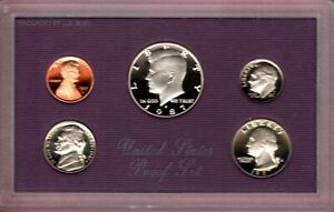 1987 S U.S. MINT PR00F SET IN ORIGINAL MINT PACKAGE.NICE GEM EEP CAMEO COINS