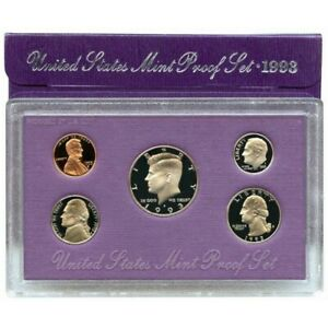 1993 S US MINT 5 COIN PROOF SET