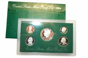 1994 S US MINT 5 COIN PROOF SET NO BOX