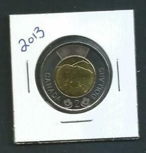 CANADA   2 DOLLARS   2013   BU PL FROM SET