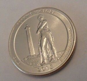 2013 CIRCULATED BUT IN GREAT SHAPE P PERRY'S VICTORY  QUARTER
