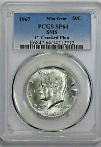 Click now to see the BUY IT NOW Price! 1967 KENNEDY HALF DOLLAR 50C PCGS SP 64 SMS MINT ERROR 1