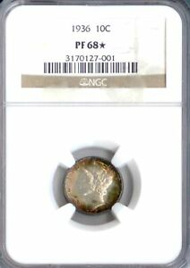 Click now to see the BUY IT NOW Price! 1936 MERCURY DIME PF68  NGC  PA3170127001