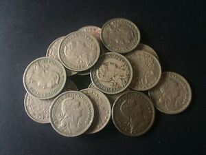 50 CENTAVOS PORTUGAL ALPACA FROM 1944 1968 LOTS OF 5