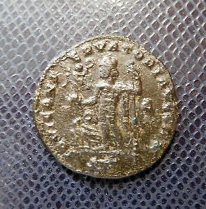 ROMAN IMPERIAL  / ANCIENT BRONZE COIN / 21.