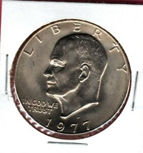1977 D EISENHOWER DOLLAR UNCIRCULATED YOU CAN BUY IT NOW COMBINE  SHIPPING C27
