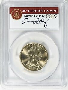 Click now to see the BUY IT NOW Price! 2009 PRESIDENTIAL $1 DOLLAR ZACHARY TAYLOR MISSING EDGE LETTERING PCGS MS 68