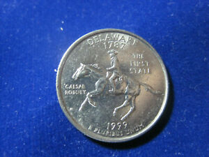 1999 P DELAWARE STATE QUARTER NEAR UNCIRCULATED