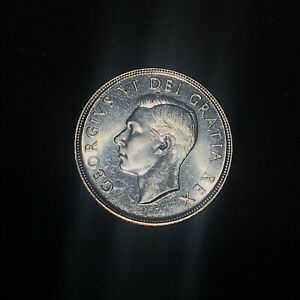 1949 CANADIAN SILVER DOLLARS   UNCIRCULATED FROM BOOK    SEE PHOTOS  CAN021