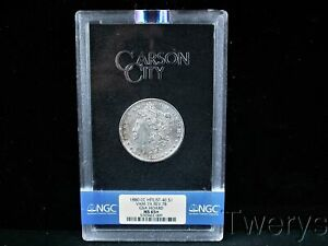 Click now to see the BUY IT NOW Price! 1880 CC HIT LIST 40 MORGAN SILVER $1 VAM 7A REV 78 GSA HOARD NGC MS 65   PLUS