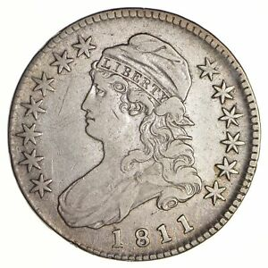 1811 CAPPED BUST HALF DOLLAR   CIRCULATED  2749