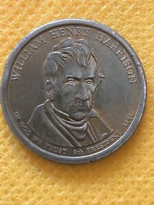 Click now to see the BUY IT NOW Price! 2009 P WILLIAM HENRY HARRISON PRESIDENTIAL DOLLAR MINT ERROR EDGE BETWEEN P &