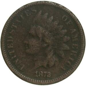 1872 INDIAN HEAD CENT FINE PENNY LIBERTY READABLE DARK SURFACES SEE PHOTOS B516