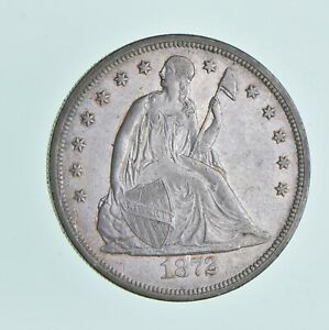 1872 SEATED LIBERTY DOLLAR  5004
