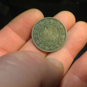 1882 H CANADA LARGE CENT