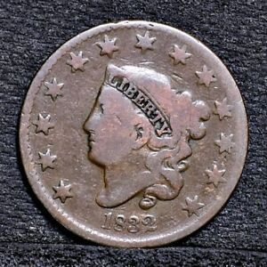 1832 LARGE CENT   GOOD  26024