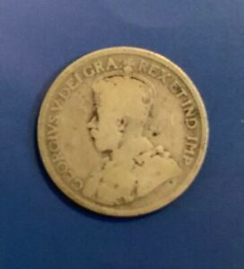 CANADA SILVER 25 CENTS 1927? SILVER .800  GEORGE V