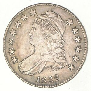 1822 CAPPED BUST HALF DOLLAR  3330