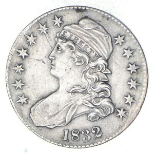 1832 CAPPED BUST HALF DOLLAR   CIRCULATED  8945