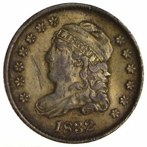 1832 CAPPED BUST HALF DIME   CIRCULATED  1709
