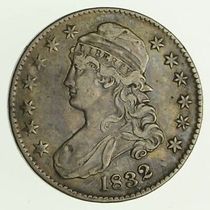 1832 CAPPED BUST HALF DOLLAR   CIRCULATED  4193