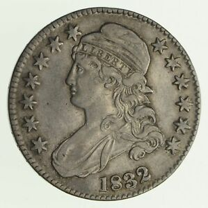 1832 CAPPED BUST HALF DOLLAR   CIRCULATED  4165