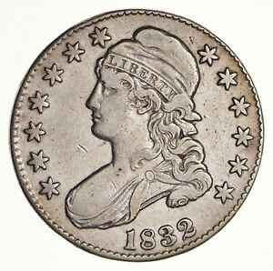 1832 CAPPED BUST HALF DOLLAR   CIRCULATED  3093
