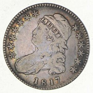 1817 CAPPED BUST HALF DOLLAR   O 113  2551