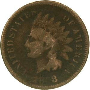 1868 INDIAN HEAD CENT FILLER PENNY HARD TO READ DATE SEE PHOTOS C016
