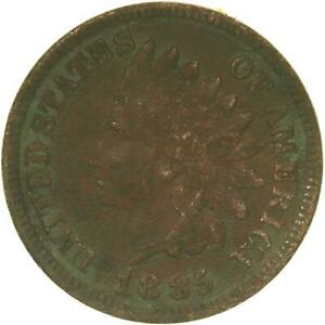 1885 INDIAN HEAD CENT FULL SHARP LIBERTY OFF COLOR SEE PHOTOS C029