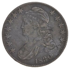 1830 CAPPED BUST HALF DOLLAR  5710