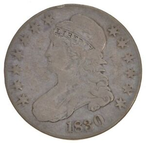 1830 CAPPED BUST HALF DOLLAR  5709