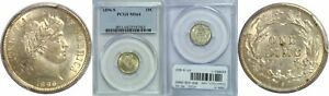 1896 S BARBER DIME PCGS MS 64
