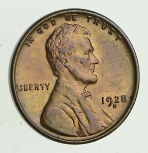 1928 D LINCOLN WHEAT CENT   UNCIRCULATED  9474