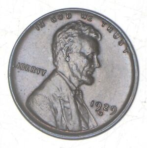 1929 D LINCOLN WHEAT CENT  7031