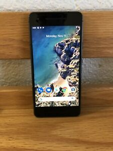 GOOGLE PIXEL 2   64GB   JUST BLACK  VERIZON   GSM UNLOCKED  ISSUES   READ