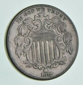 1872 SHIELD NICKEL  7162