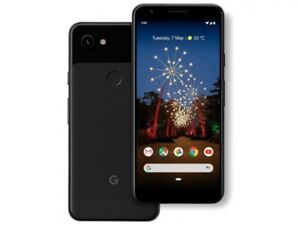 GOOGLE   PIXEL 3 XL WITH 64GB MEMORY CELL PHONE  UNLOCKED    BLACK