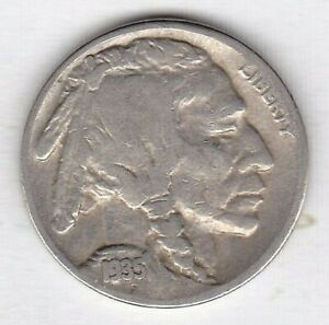 1935 S  BUFFALO NICKEL IN GOOD CONDITION STK AB4