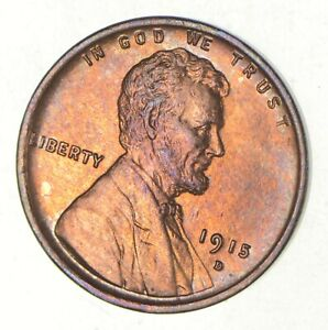 1915 D LINCOLN WHEAT CENT  2799