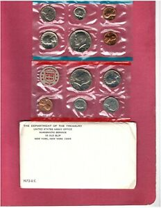 1972 U.S. MINT SET NICE CHOICE UNCIRCULATED SET HERE  C2734