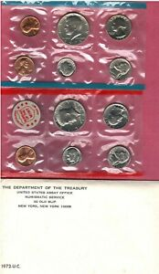 1972 U.S. MINT SET SOME NICE CHOICE BU COINS HERE