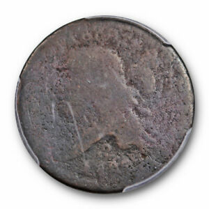 1793 LIBERTY CAP HALF CENT FLOWING HAIR STYLE PCGS PO 01 POOR FILLER GRADE